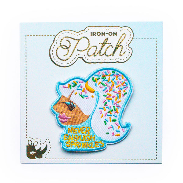Never Enough Sprinkles Iron-On Patch