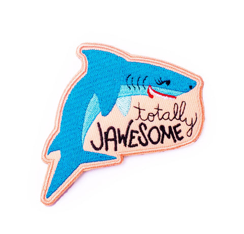 Totally Jawesome Iron-On Patch