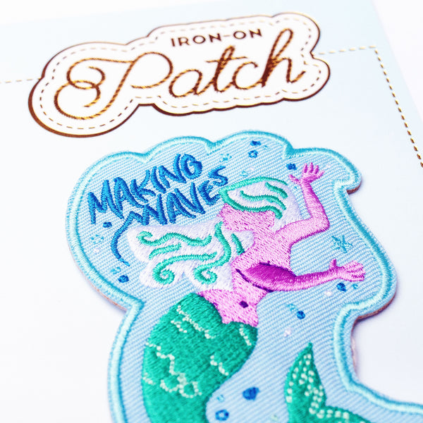 Makin' Waves Iron-On Patch