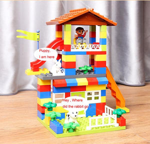 Alex and Gaby Toys DIY Colorful City House close view