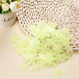 Alex and Gaby Toys Fluorescent Stars for room decoration yellow