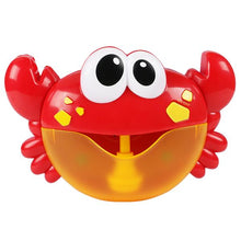 Load image into Gallery viewer, Alex and Gaby Toys Funny Bubble Maker Music Crab front view