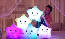 Load image into Gallery viewer, Alex and Gaby Toys LED Pillow Toy kids playing at night