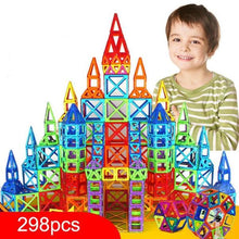 Load image into Gallery viewer, Alex and Gaby Toys Magnetic Construction Set Castle toy