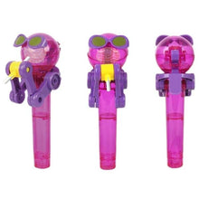 Load image into Gallery viewer, Alex and Gaby Toys Purple Cute Lollipop Holder Toy