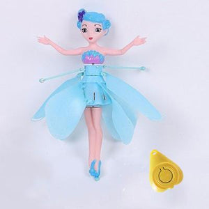 Blue flying fairy alex and gaby toys