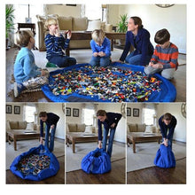 Load image into Gallery viewer, Family playing in Bag for Toys Alex and Gaby Toys