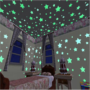 Fluorescent Stars for room decoration in the night Alex and Gaby Toys