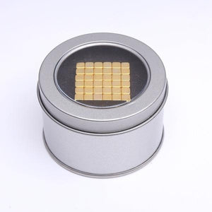 Gold Super Magnet Cube 5 mm 216 pcs Alex and Gaby Toys