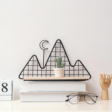 Load image into Gallery viewer, Metal Wall Shelf - Nordic Style Wall Decor Alex and Gaby Toys front view