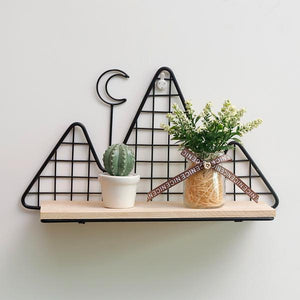 Metal Wall Shelf - Nordic Style Wall Decor Alex and Gaby Toys possible decorations