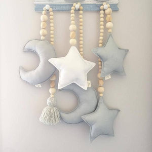 Nordic Style Wooden Star Beads Alex and Gaby Toys