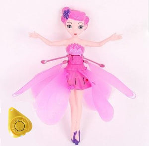 Pink flying fairy alex and gaby toys