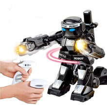 Load image into Gallery viewer, RC boxing robot alex and gaby toys black