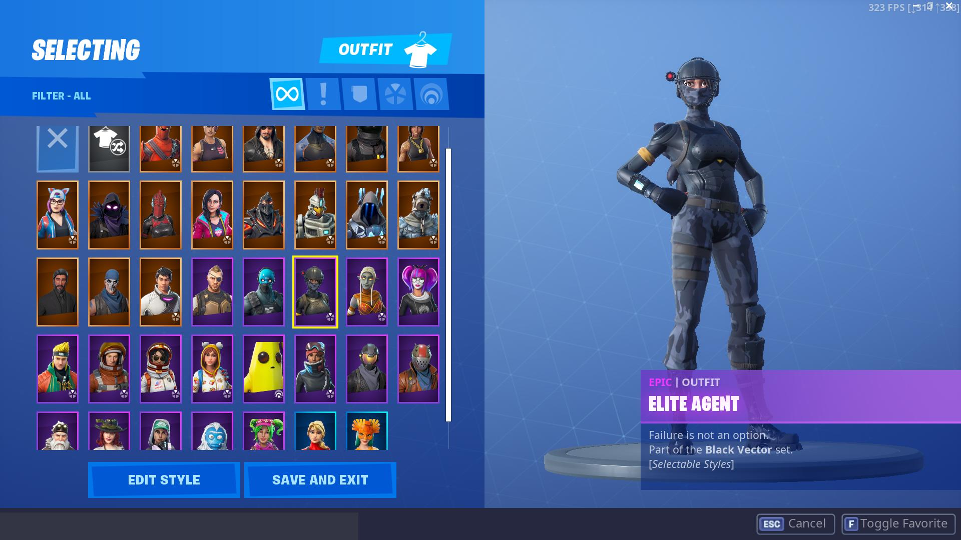 Fortnite Account Season 3 9 Reaper Luxe More Skins 37 Skins Stw Fortniteog Register a free account today to become a member! usd