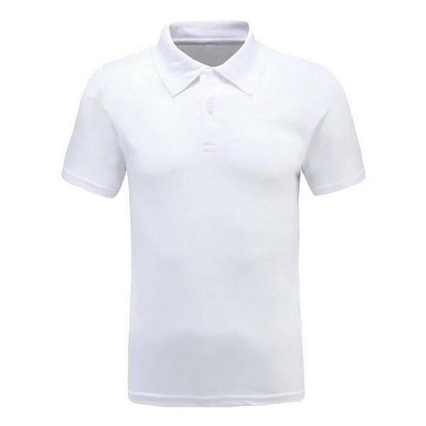 Men Polo Shirt Casual Short Sleeve Cotton Shirt Print Slim Fit Summer Clothes 2020