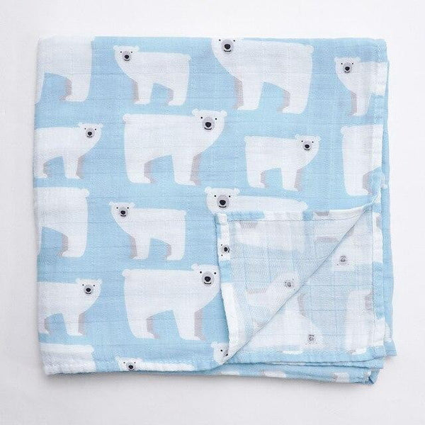 Luxury Baby Infant Blanket 100% Organic Cotton Newborn Baby - Mimi's Eco Fashions