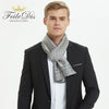 Men Silk Scarves Fashion Accessories Autumn Winter Pure Silk Long Scarves 30cm
