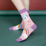 Unicorn Women's Mid Socks
