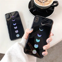 Laser Moon Eclipse iPhone Case