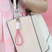 Portable Keychain USB iPhone Cable