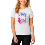 Colorful Skull Kettlebell Women's T-Shirt