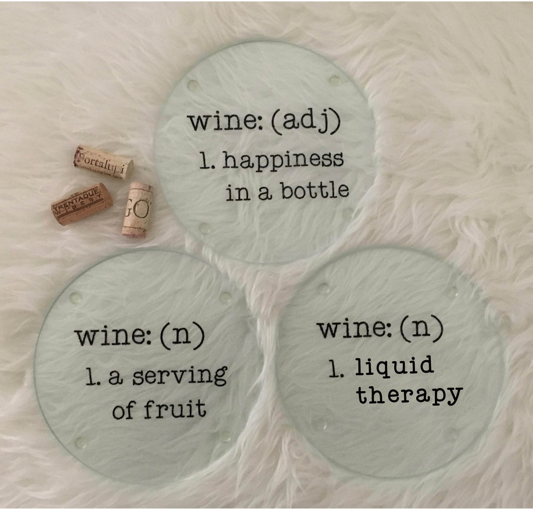 Wine Themed Cutting Boards
