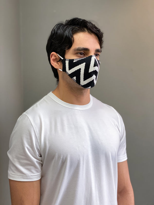 CHEVRON PRINT - FACE MASK