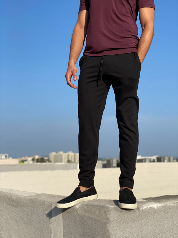 MATTE BLACK - MENS EVERYDAY PANT