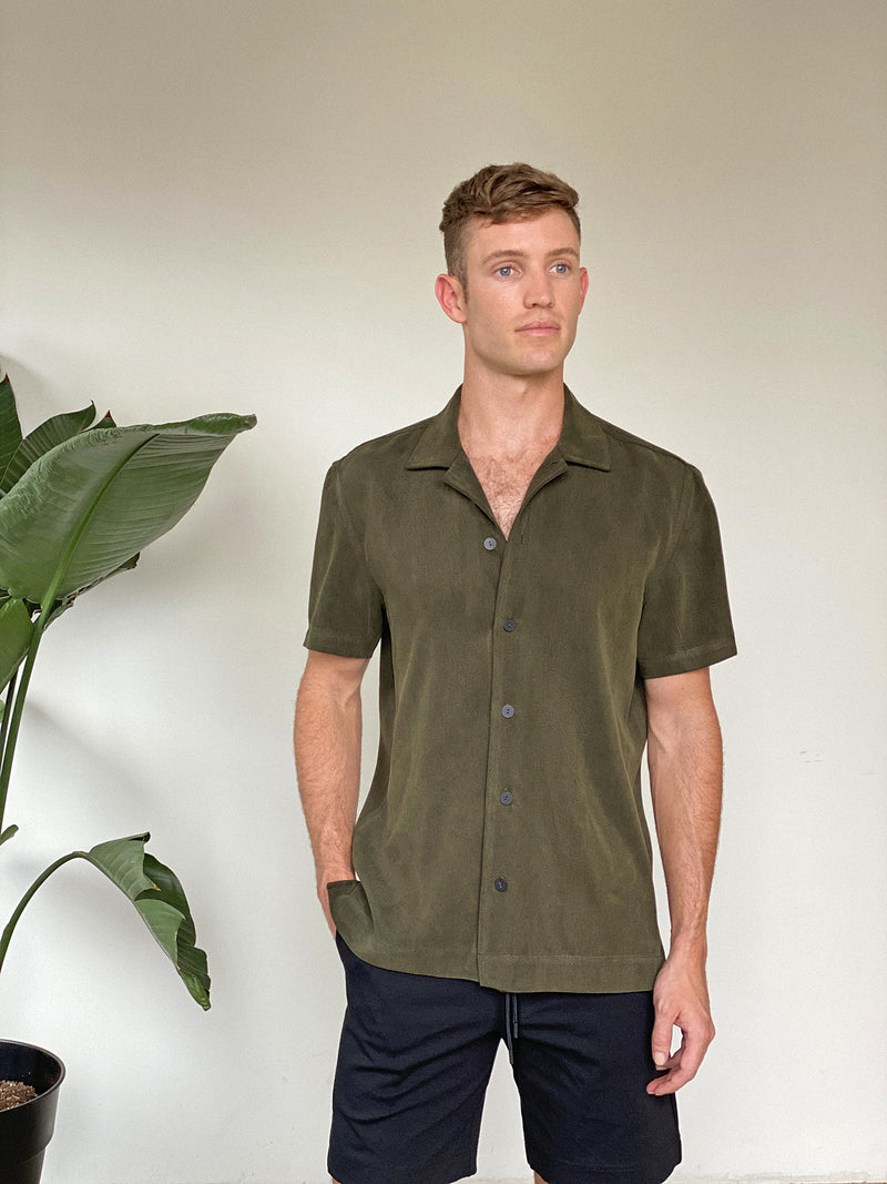 FOREST - BUTTON UP SHIRT