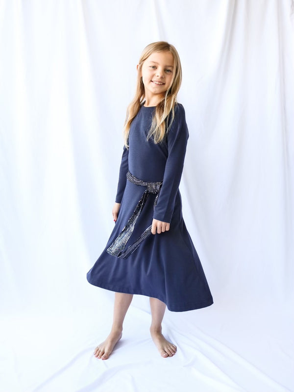 GIRLS EVERYDAY LONG SLEEVE DRESS