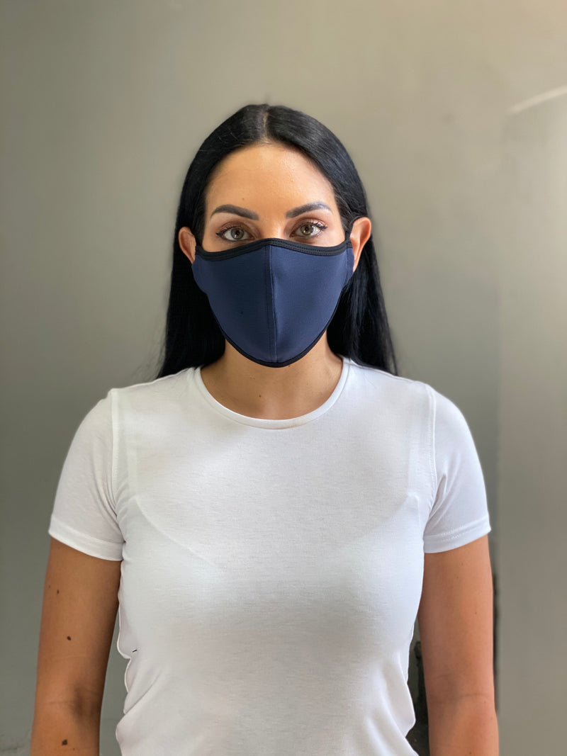 INDIGO - T-SHIRT FACE MASK