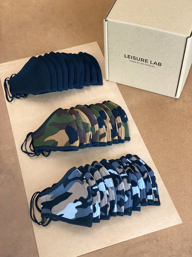 THE GIFT PACK OF 30 - CAMOS AND MATTE BLACK (IN 3 SIZES)
