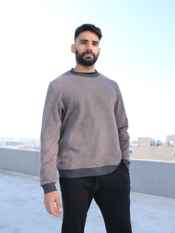 EL MIRAGE - MENS CREW NECK SWEATER