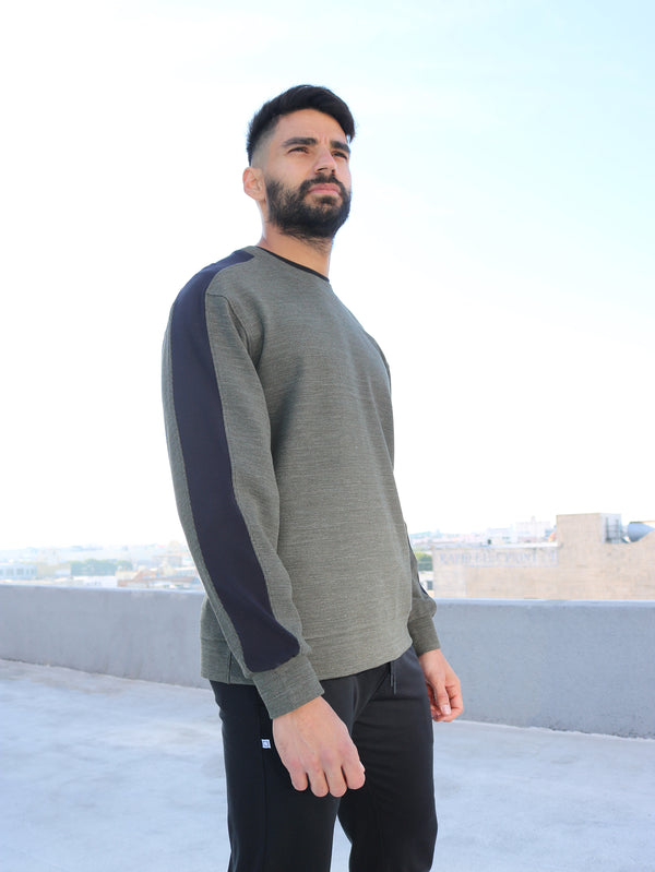 FRENCH FOREST - MENS CREW NECK SWEATER