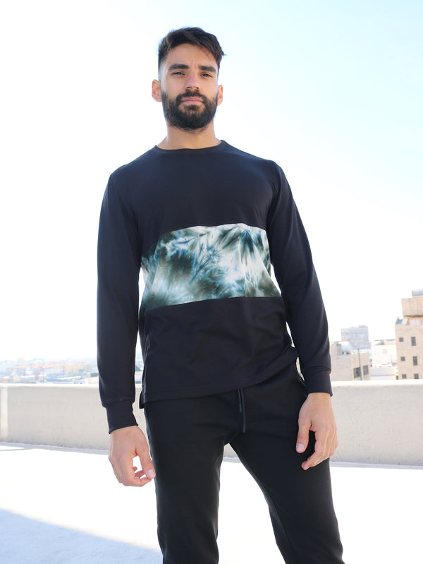 TIE DYE - MENS LONG SLEEVE SHIRT