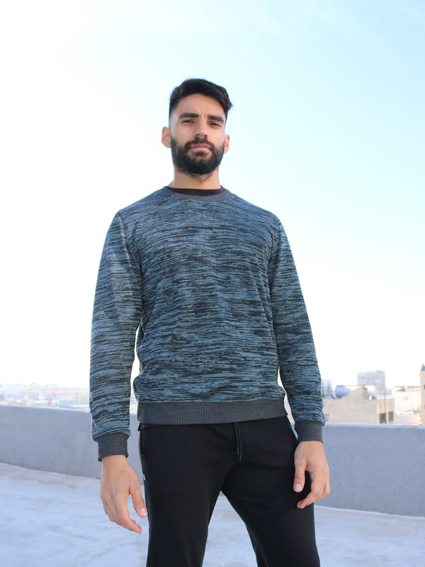 THE SKYLINE - MENS CREW NECK SWEATER