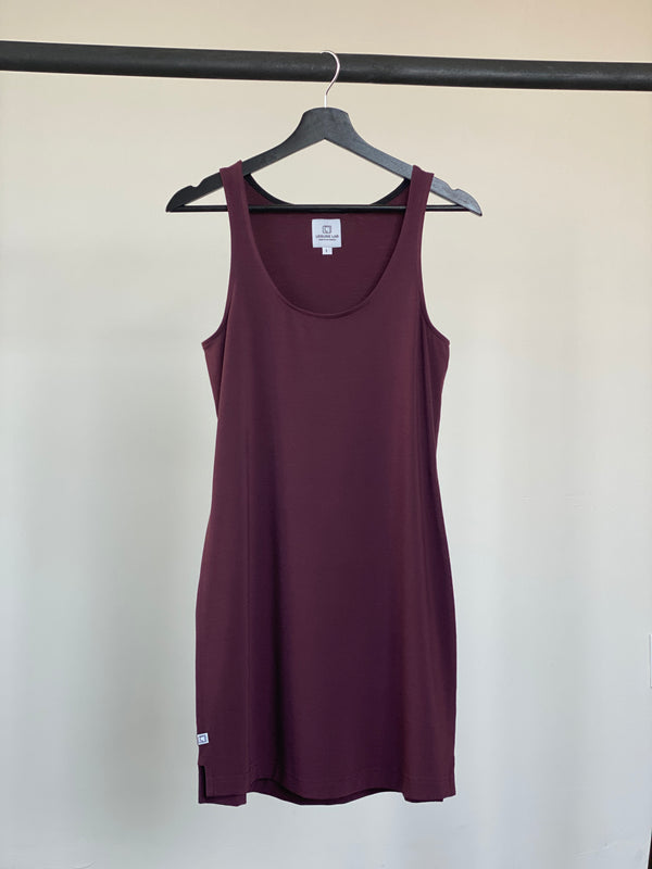 MAROON - WOMENS EVERYDAY DRESS