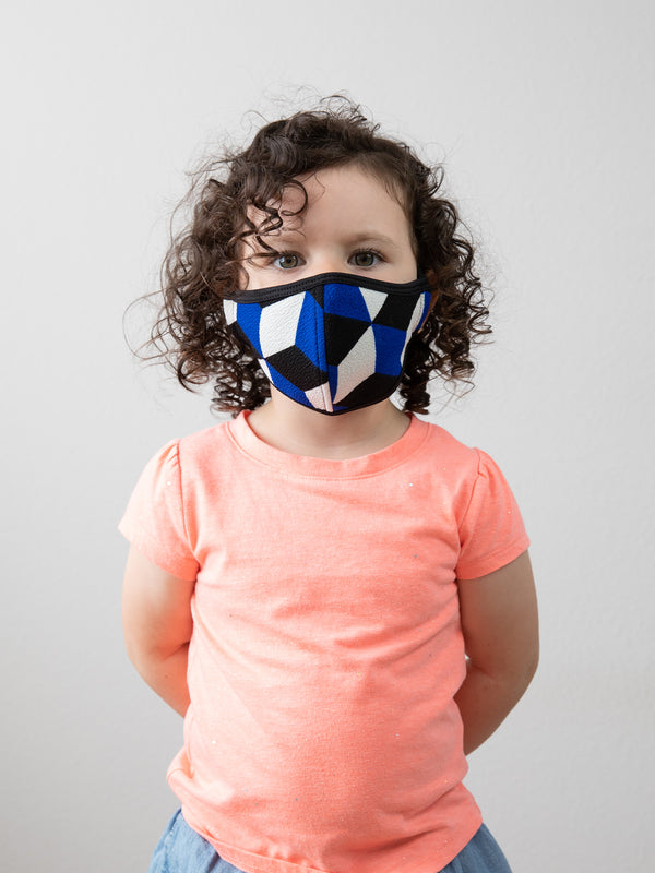 COBALT CUBE - KID FACE MASK