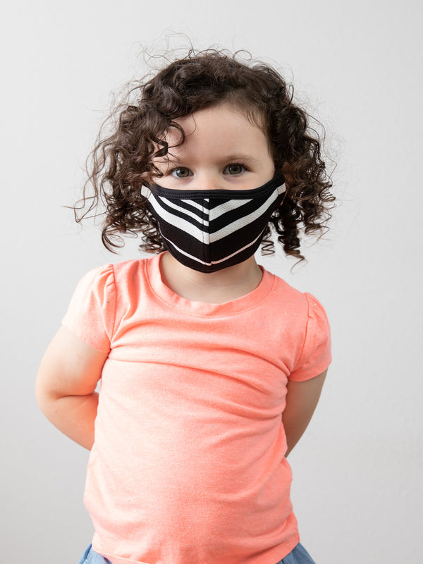MATTE STRIPE - KID FACE MASK