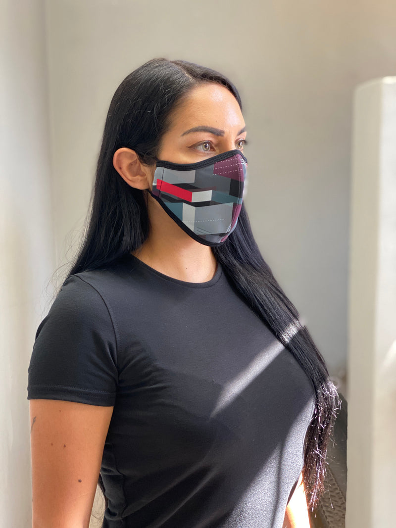 PRINT 009 - FACE MASK