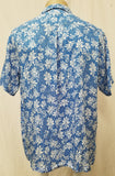 Men's Aloha Shirt - Pineapple Rain - Blue