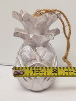 Pineapple Christmas Ornament - Silver