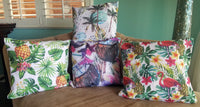 Tropical Throw Pillow Covers