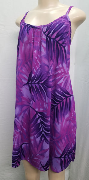 Ladies Lani Dress - Fern - Purple