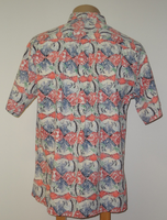 Vintage Avi Kiriaty Kahala Artist Series Men's Aloha Shirt - Large Only