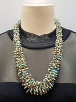 Beaded Necklace - Gaia - Turquoise Multi
