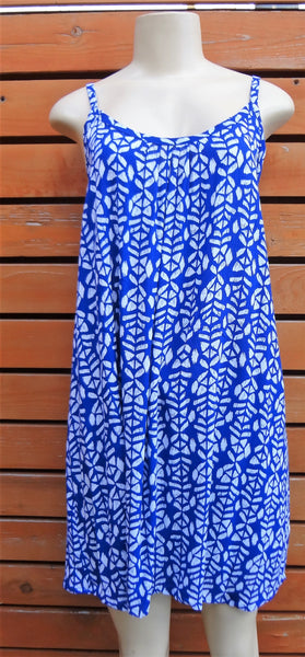 Ladies Lani Dress - In A Row - Blue