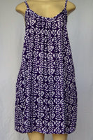 Ladies Lani Dress - In A Row - Purple