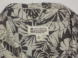 Vintage Iolani Hawaiian Classic Monstera Leaf Aloha Shirt